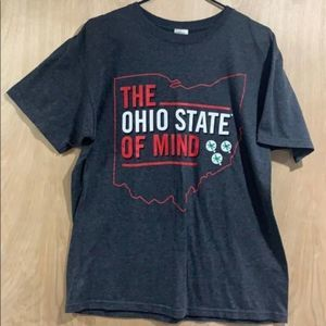 JA Ohio State of Mind Short Sleeve Tee Size Large
